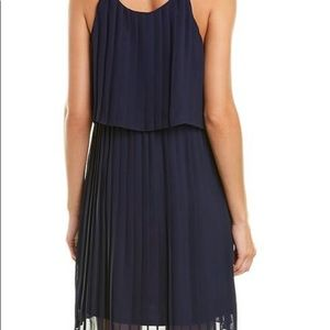 NY collection pleated all over dress